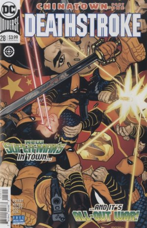 Deathstroke # 28 Issues V4 (2016 - 2019) - Rebirth