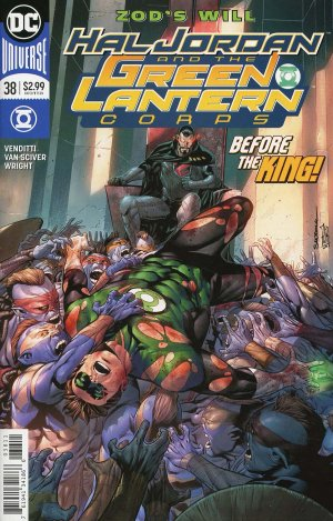 Green Lantern Rebirth # 38 Issues (2016-2018)