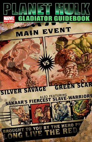 Planet Hulk - Gladiator Guidebook édition Issue (2006)