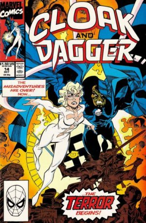 Cloak and Dagger édition Issues V3 (1990 - 1991)