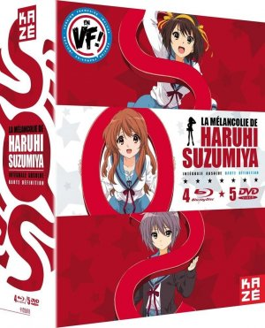 Haruhi Suzumiya - Intégrale, saisons 1-2 + film  Intégrale Blu-ray