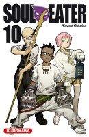 couverture, jaquette Soul Eater 10  (Kurokawa) Manga