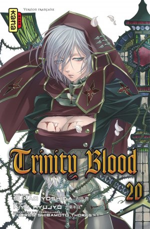 couverture, jaquette Trinity Blood 20  (kana)