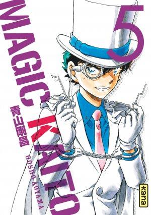 couverture, jaquette Magic Kaito 5