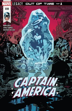 Captain America # 698 Issues V1 Suite (2017 - 2018)