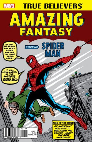 True believers - amazing fantasy édition Issue (2017)