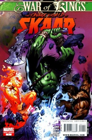 War of Kings - Savage World of Skaar édition Issue (2009)