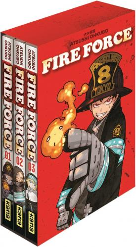 Fire force # 1 Coffret 3 tomes