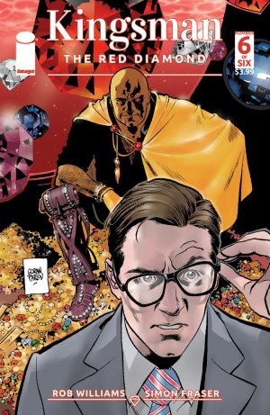 Kingsman - The Red Diamond # 6 Issues (2017 - 2018)