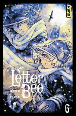 couverture, jaquette Letter Bee 6  (kana) Manga