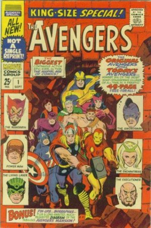 Avengers édition Issues (1967 - 1972) - King-Size Special