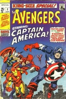 Avengers # 3 Issues (1967 - 1972) - King-Size Special