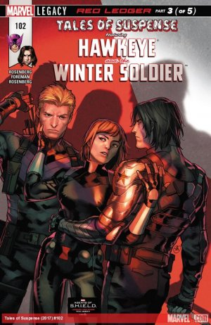 Tales of Suspense # 102 Issues V2 (2017 - 2018)