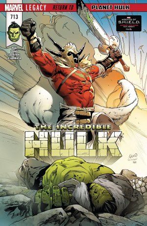 The Incredible Hulk # 713 Issues V4 (2017 - Ongoing)
