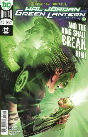 Green Lantern Rebirth # 40 Issues (2016-2018)