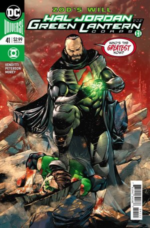 Green Lantern Rebirth # 41 Issues (2016-2018)