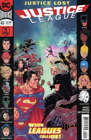 Justice League # 40 Issues V3 - Rebirth (2016 - 2018)