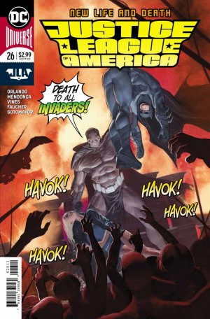 Justice League Of America # 26 Issues V6 (2017 - 2018)
