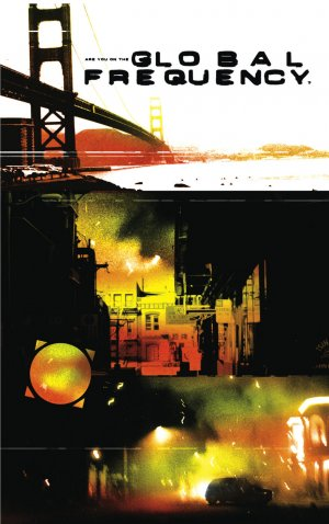 Global frequency édition TPB hardcover (cartonnée) - Deluxe (2018)