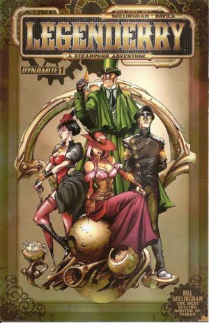 Legenderry - L'aventure steampunk édition Issues (2013 - 2014)
