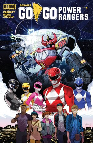 Saban's Go Go Power Rangers édition Issues (2017 - Ongoing)