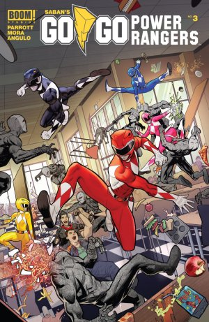 Saban's Go Go Power Rangers # 3