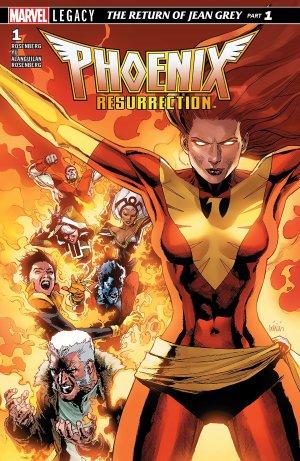 X-Men - La Résurrection du Phénix # 1 Issues (2017 - 2018)
