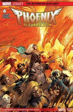 X-Men - La Résurrection du Phénix # 4 Issues (2017 - 2018)