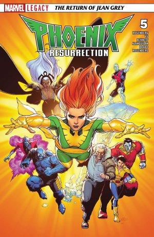 X-Men - La Résurrection du Phénix # 5 Issues (2017 - 2018)