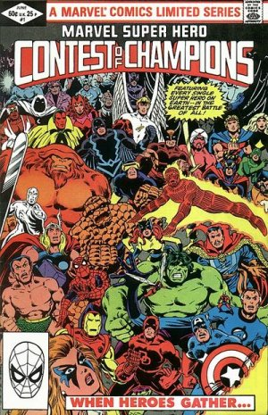 Marvel Super Hero Contest of Champions # 1 Issues (1982)
