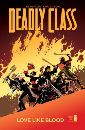 Deadly Class # 32 Issues (2014 - Ongoing)