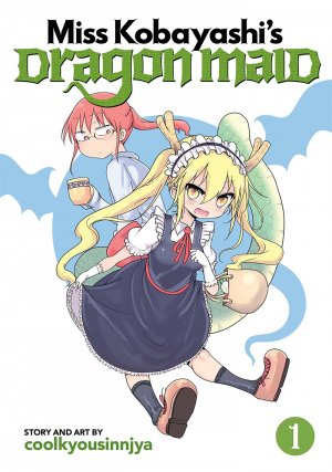 Kobayashi-san Chi no Maid Dragon édition Simple