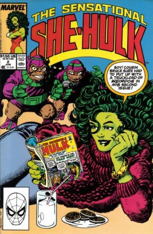 The Sensational She-Hulk # 2 Issues (1989 - 1994)