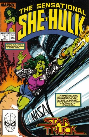 The Sensational She-Hulk # 6 Issues (1989 - 1994)