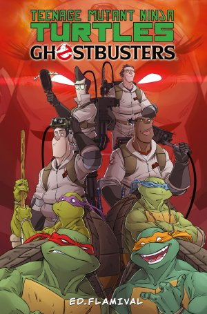 Teenage Mutant Ninja Turtles / Ghostbusters édition TPB softcover (souple)