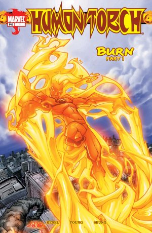 Human Torch # 1 Issue V1 (2003-2004)