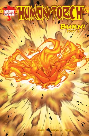 Human Torch # 3 Issue V1 (2003-2004)