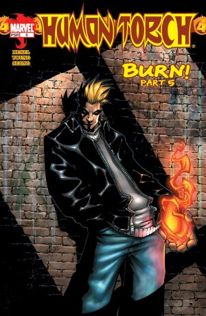 Human Torch # 5 Issue V1 (2003-2004)