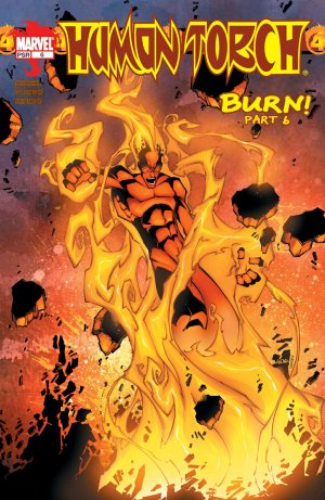 Human Torch # 6 Issue V1 (2003-2004)