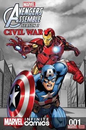 Marvel Universe Avengers Assemble - Civil War édition Issues V2 - Infinite Comics (2017 - 2018)