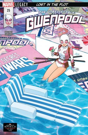 Gwenpool 25 - LOST IN THE PLOT PART 2