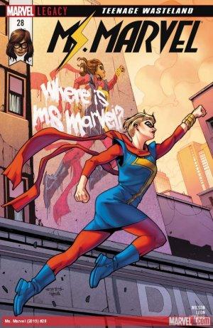 Ms. Marvel # 28 Issues V4 (2015 - 2019)