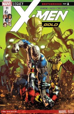X-Men - Gold # 21 Issues V2 (2017 - 2018)