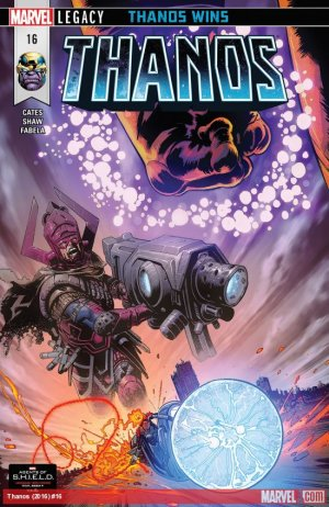 Thanos # 16 Issues V2 (2016 - 2018)