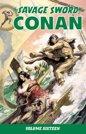 The Savage Sword of Conan # 16 Intégrale (2007 - 2016)