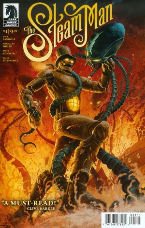 The Steam Man édition Issues (2015 - 2016)