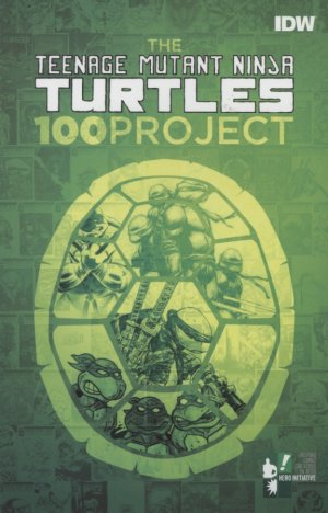 The Teenage Mutant Ninja Turtles - 100 project édition TPB softcover (souple)