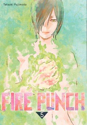 couverture, jaquette Fire Punch 5  (kazé manga)