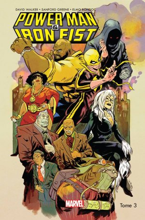 Power Man and Iron Fist # 3