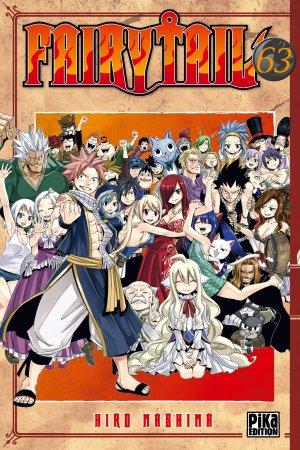couverture, jaquette Fairy Tail 63  (Pika) Manga